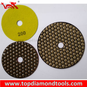 Diamond Tools 5′′ Dry Diamond Polishing Pad pictures & photos