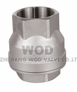 Threaded End 2PC Spring Check Valve pictures & photos