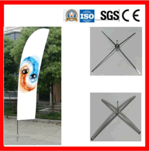 Flag Pole for Indoor/Outdoor Advertising pictures & photos