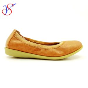 Four Color Soft Comfortable Flax Lady Women Shoes Sv-FT 010 pictures & photos