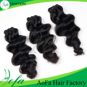 100% Unprocessed Brazilian Human Remy Hair Extension with Wholesale Price pictures & photos