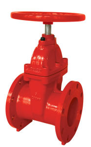 UL Listed Flanged End Gate Valve pictures & photos