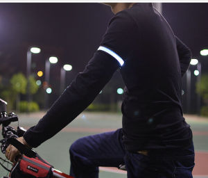 Popular Nylon Flashing LED Armbands for Running Cycling