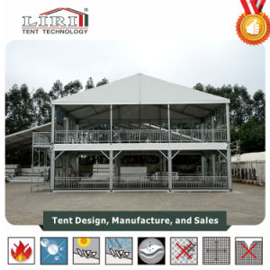 Special Design 15X15m Cube Structure in Black PVC Fabric pictures & photos