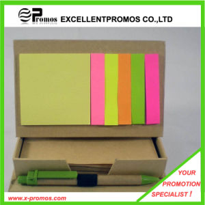 Promotional Recycled Sticky Notepad with Pen (EP-M5261) pictures & photos