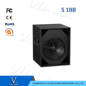 S18+ Professional Speaker Single 18 Inch Subwoofer pictures & photos