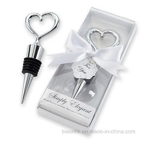 Popular Wedding Favor, Wedding Gift, Metal Bottle Stopper, Wine Stopper pictures & photos