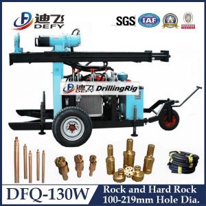 Dfq-130W Used Borehole Drilling Machine for Sale pictures & photos