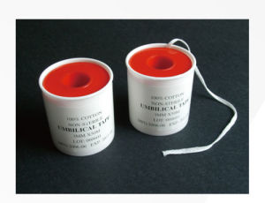 Cotton Umbilical Tape for Hospital pictures & photos