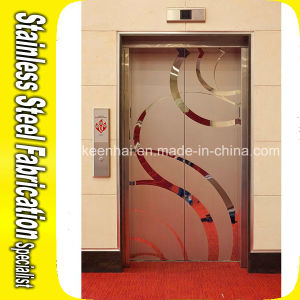 Luxury Design Decorative Stainless Steel Elevator Door for Shopping Mall pictures & photos