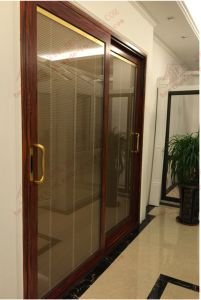 Thermal Break Aluminum Heavy Sliding Door (BHA-DS18) pictures & photos