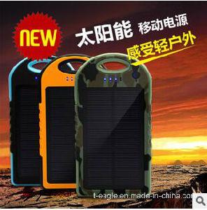 12000mAh Solar Genuine Universal Charging Treasure Millet Phone Waterproof LED Lighting Mobile Power pictures & photos