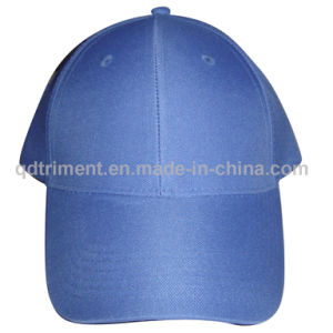 Promotional Cheaper 100% Polyester Custom Leisure Baseball Cap (TMB00538) pictures & photos