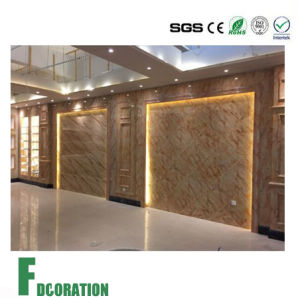 UV Coated Decorative Marble Wall Panel pictures & photos