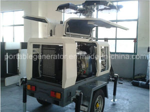 Diesel Generator Trailer Type Lighting Tower Perkins Engine of Model Ym-P6000L pictures & photos