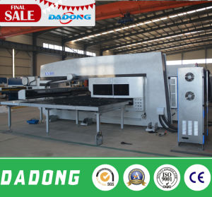 Servo Drive CNC Turret Punch Press Manufacturers 30 Ton Stamping Machine From Dadong pictures & photos