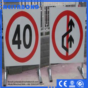 Neitabond Aluminum Composite Panel with Mill Finish to Malaysia for Traffic Signs pictures & photos