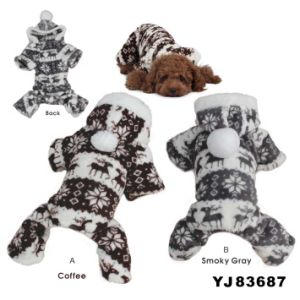 Fashion Pinted Dog Coat (YT83687) pictures & photos