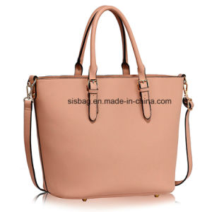 High Quality Grey Grab Women Tote Bag Shoulder Handbag pictures & photos