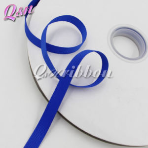 Cobalt Solid Grosgrain 9mm Ribbon