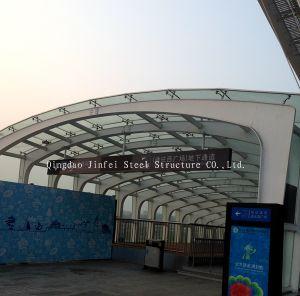 Steel Frame to Entrance of Basement Parking