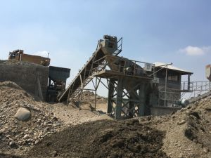 River Stone Gravel Crushing Plant and Grinding Machine for Aggregates pictures & photos