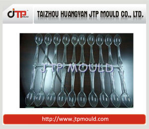 High Gloss Core Mold of 50 Cavities Small Tea Spoon Plastic Spoon Mould pictures & photos
