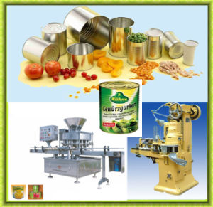 Fish Cans Sealing Machine Tomato Paste Cans Sealing Machine pictures & photos