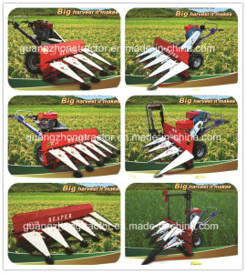 Mini Crops Reaper Binder (4GZK-50) Harvester pictures & photos