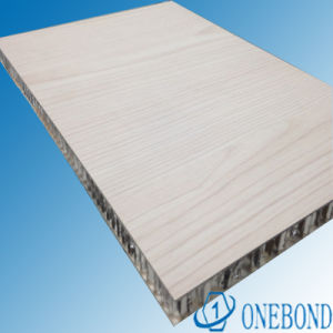 Wood Grain Aluminium Honeycomb Sandwich Panel pictures & photos