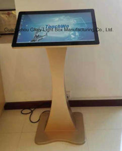 19 Inch LAN/WiFi/3G Network Android Advertising Display Standing pictures & photos