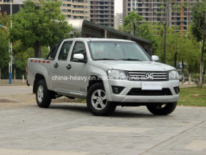 4X4 Petrol /Gasoline Double Cabin Pick up (Long Cargo Box, Deluxe) pictures & photos