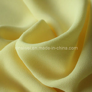 Yellow Crinkle Chiffon (SL12021) pictures & photos