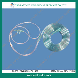 Disposable Blood Transfusion Set Without Needle pictures & photos