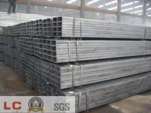Common Carbon Square and Rectangular Steel Pipe pictures & photos