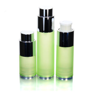 High Quality Transparent 30ml 50ml 80ml Cosmetic Packaging Airless Plastic Lotion Pump Spray Bottle pictures & photos
