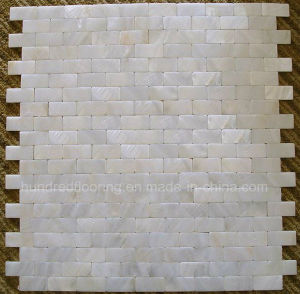 White Mother of Pearl Shell Mosaic Tile (HMP71) pictures & photos