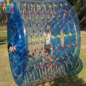 0.90mm Plato PVC Funny Popular Hot Sell Exciting Inflatable Water Wheel pictures & photos