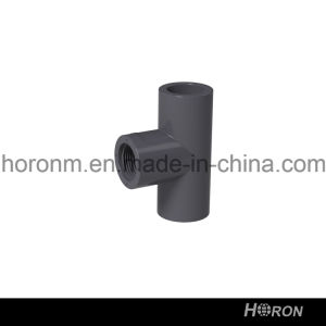 Water Pipe-PVC Fitting-UPVC Famale Tee-Sch80 Famale Tee-PVC ASTM Famale Tee