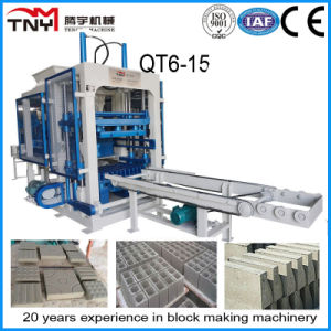 2015 Machinery Qt10-15 Fully Automatic Block Making Machine Line for Sale pictures & photos