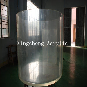 Large Glass Cylindrical Acrylic Tank pictures & photos