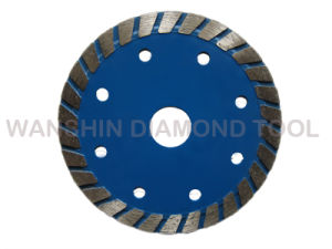 Wide Turbo Teeth Diamond Saw Blade for Stones pictures & photos