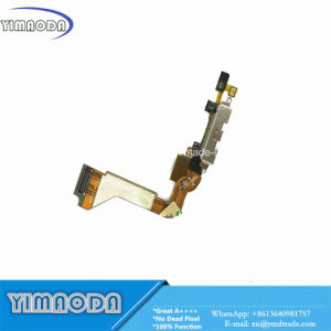 Mobile Phone Flex Cbale for Apple iPhone 4 4G Charger Dock USB Charging Flex Cable with Mic Microphone pictures & photos