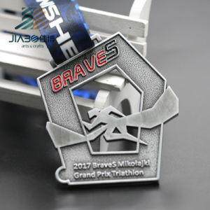 Jiabo Zinc Alloy Antique Bronze Metal Triathlon Medal for Wholesale pictures & photos
