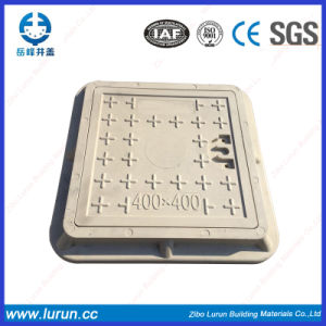 SMC Fiberglass Reinforced 600X600mm Manhole Cover En124 D400 pictures & photos