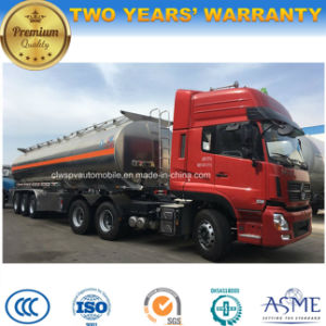 Heavy Duty Fuel Truck 50000 Liters Aluminum Alloy Tank Truck pictures & photos