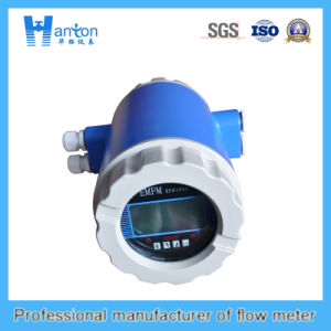 Blue Carbon Steel Electromagnetic Flowmeter Ht-0296 pictures & photos