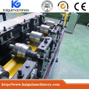 Automatic Flying Cut-off Ceiling T Bar Roll Forming Machinery pictures & photos