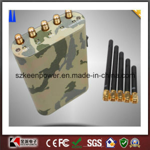 Handheld Cell Phone Jammer + GPS Jammer + WiFi Jammer pictures & photos