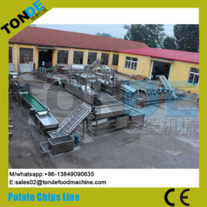 Fully Automatic Natural Potato Chips French Fries Processing Line pictures & photos